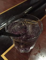 Our very own purple cocktail.