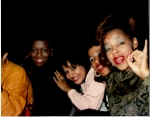 Sharon Kelly, Germaine Metoyer, ? and Constance Guillard