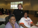 Em Horton, Latonia Mims and Rose Rock