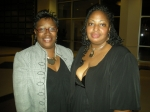 Latonia Mims and Rose (Yvette) Rock ready to party.