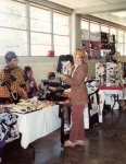 Nicole shopping at Texas A&M's Southwestern Black Student Leadership Conference (1993)